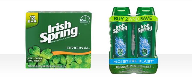 Irish Spring coupon