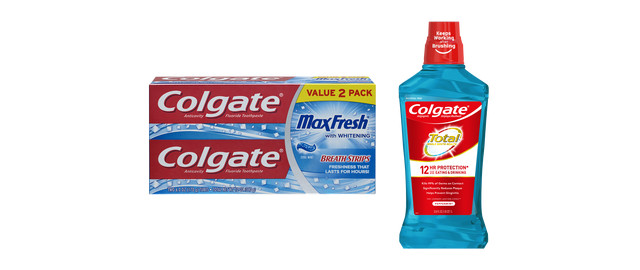 Colgate Oral Care products coupon
