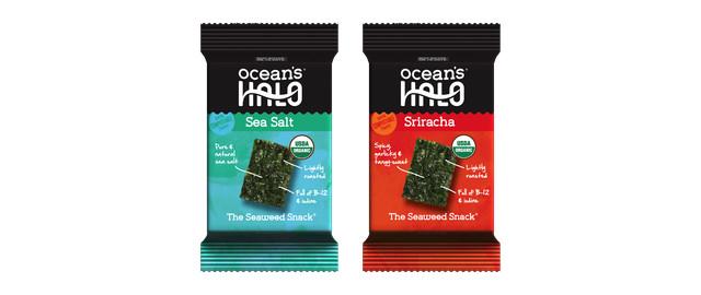 Buy 2: Ocean's Halo Sea Salt or Sriracha Seaweed Snack coupon