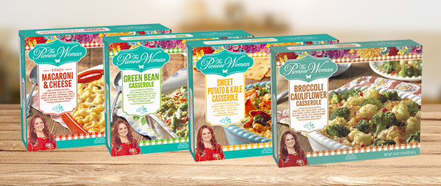 THE PIONEER WOMAN Frozen Sides coupon