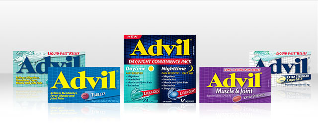 Advil® products coupon