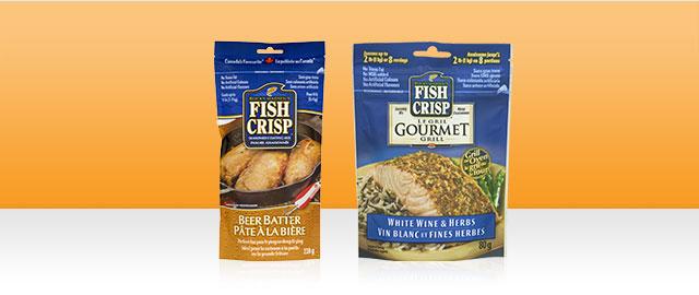 Fish Crisp and Fish Crisp Gourmet Grill coupon