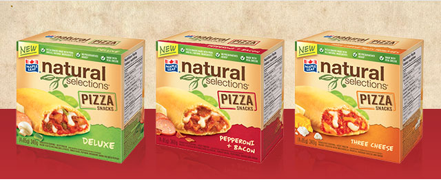 Buy 2: Maple Leaf® Natural Selections® Pizza Snacks coupon