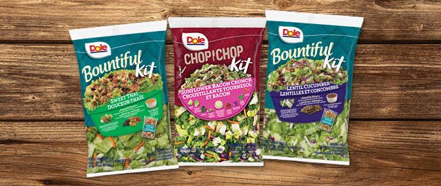 DOLE® Fresh Salad Kits coupon