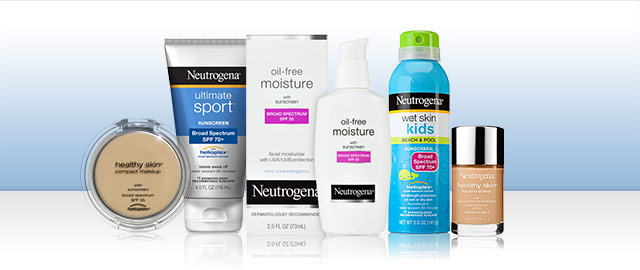 Buy 2: Neutrogena® SPF products coupon