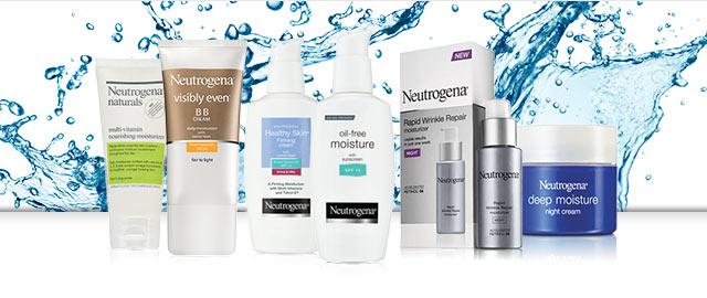 Neutrogena® Facial Moisturizers coupon