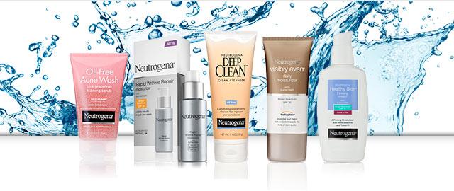 Buy 2: Neutrogena® Facial Care products coupon