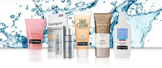 Buy 2: Neutrogena® Facial Care products coupon