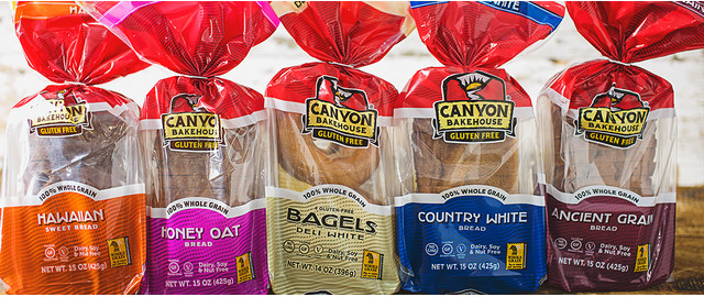 Canyon Bakehouse Gluten Free coupon