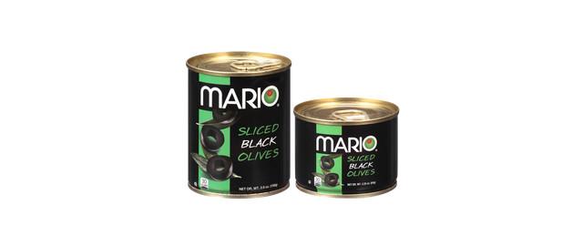 Mario Sliced Black Olives coupon