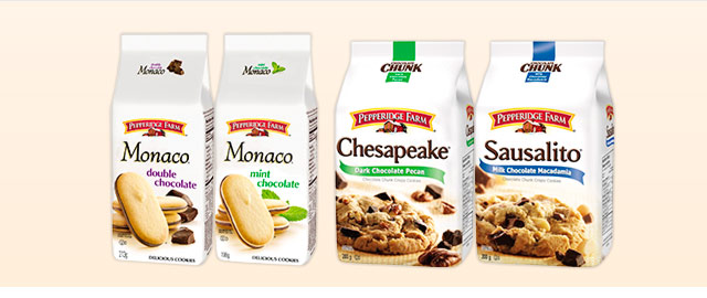 Pepperidge Farm® Cookies coupon