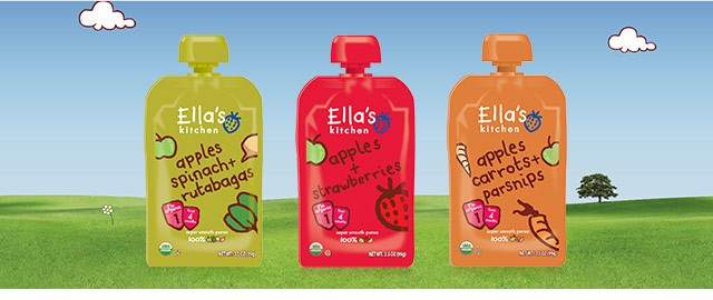 Buy 3: Ella's Kitchen® baby food products coupon