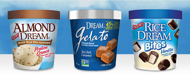 DREAM™ Frozen Non-Dairy Desserts coupon