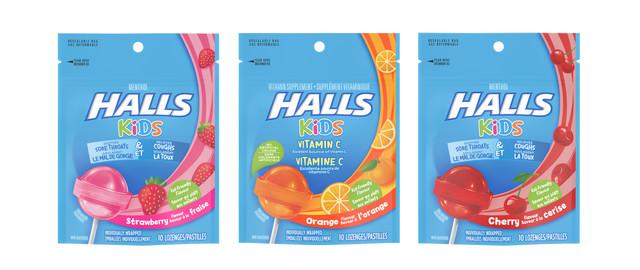 HALLS KIDS Pops coupon